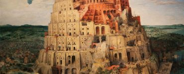 the tower of babel as imagined in a painting